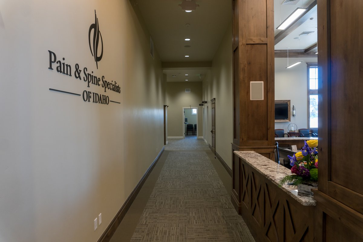 Pain & Spine Specialists of Idaho Hallway - pain management idaho falls