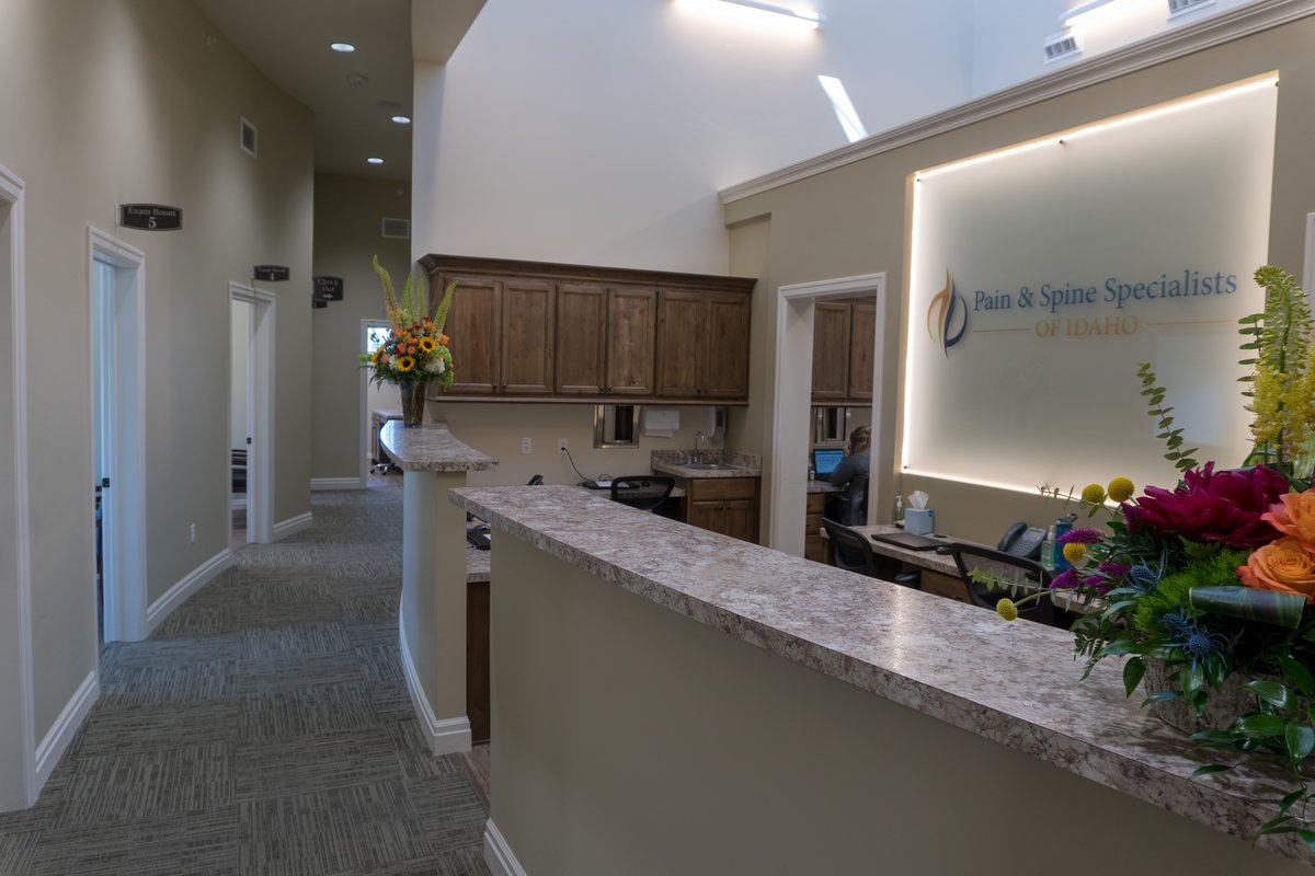 Front Desk - pain management idaho falls